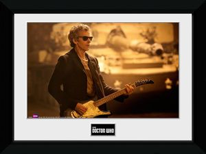 [Doctor Who: Framed Print: Guitar Landscape (Product Image)]