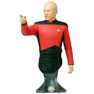[Star Trek: Masterpiece Collection Maxi Bust: Captain Jean Luc Picard (Product Image)]