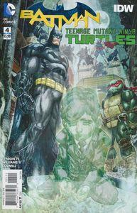 [Batman/Teenage Mutant Ninja Turtles #4 (Product Image)]