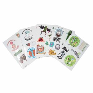 [Rick & Morty: Stickers: Adventures Tech (Product Image)]