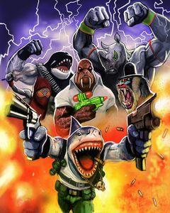 [Beast Commandos #1 (Product Image)]