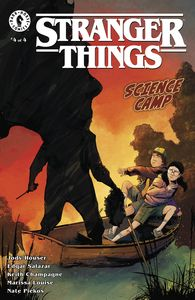 [Stranger Things: Science Camp #4 (Cover B Piriz) (Product Image)]