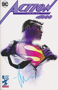 [Action Comics #1000 (Signed Forbidden Planet Exclusive Jock Variant) (Product Image)]