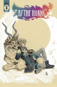 [By The Horns #3 (Mark Dos Santos Unlocked Cover) (Product Image)]