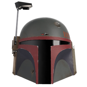 [Star Wars: The Mandalorian: Re-Armored Electronic Helmet: Boba Fett (Product Image)]
