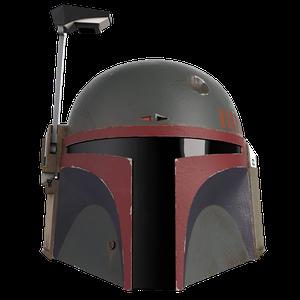 [Star Wars: The Mandalorian: Re-Armored Electronic Helmet: Boba Fett (Product Image)]