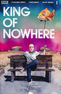 [The cover for King Of Nowhere #1 (Cover A Jenkins)]