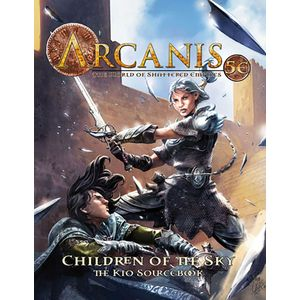 [Arcanis: World Of Shattered Empires: 5th Edition: Children Of The Sky (Product Image)]