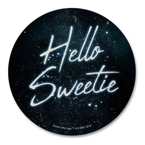 [Doctor Who: Coaster: Hello Sweetie (Product Image)]