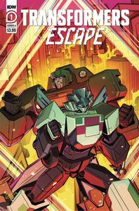 [Transformers: Escape #1 (Cover A Mcguire-Smith) (Product Image)]