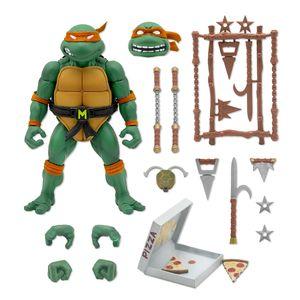 [Teenage Mutant Ninja Turtles: Ultimates Action Figure: Michaelangelo (Product Image)]