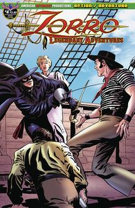 [Zorro: Legendary Adventures #4 (Main Cover) (Product Image)]