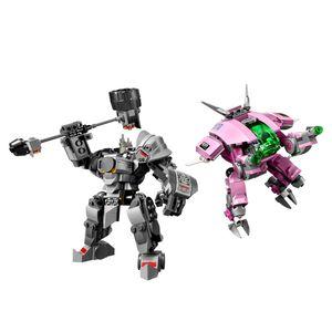[LEGO: Overwatch: D.Va & Reinhardt (Product Image)]
