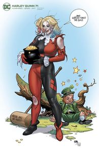 [Harley Quinn #71 (Frank Cho Variant Edition) (Product Image)]