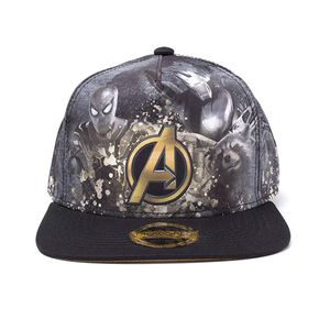 [Avengers: Infinity War: Snapback Cap: Heroes All-over (Product Image)]