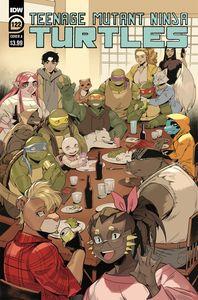 [Teenage Mutant Ninja Turtles: Ongoing  #122 (Cover A Nishijima) (Product Image)]