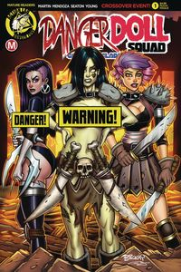 [Danger Doll Squad: Galactic Gladiators #1 (Cover F Mckay Risque) (Product Image)]
