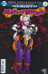 [The cover for Harley Quinn #11]