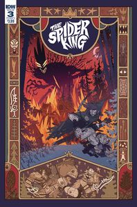 [Spider King #3 (Cover A Darmini) (Product Image)]