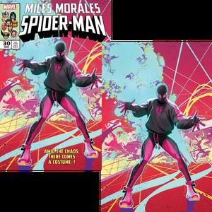 [Miles Morales: Spider-Man #30 (Skan Srisuwan Variant Set) (Product Image)]