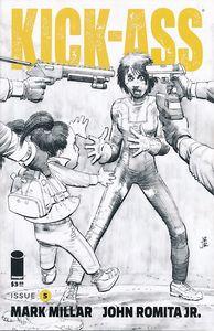 [Kick-Ass #5 (Cover B Black & White Romita Jr) (Product Image)]