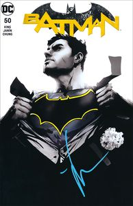 [Batman #50 (Forbidden Planet Exclusive - Jock Monochrome Signed Edition) (Product Image)]