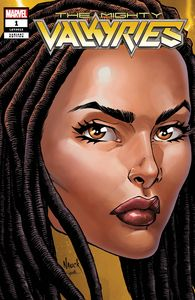 [Mighty Valkyries #1 (Nauck Headshot Variant) (Product Image)]