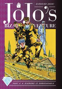 [JoJo's Bizarre Adventure: Part 4: Diamond Is Unbreakable: Volume 3 (Hardcover) (Product Image)]