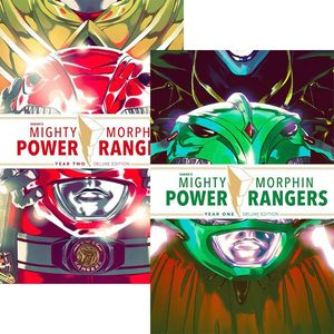 [Mighty Morphin Power Rangers: Year One & Two (Hardcover Set LCSD 2019) (Product Image)]