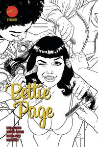 [Bettie Page #5 (Kano Black & White Variant) (Product Image)]