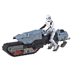 [Star Wars: The Rise Of Skywalker: Galaxy Of Adventures Vehicle: First Order Driver & Treadspeeder (Product Image)]