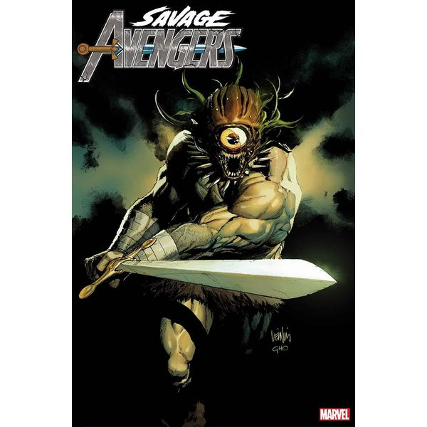 [The cover for Savage Avengers #12 (Yu Variant)]