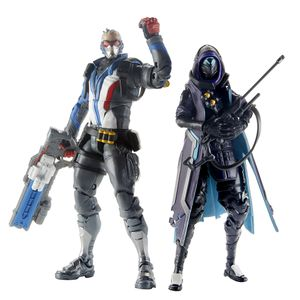 [Overwatch: Ultimates Action Figure: Shrike Ana & Soldier Duo Pack (Product Image)]