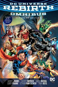 [DC Universe: Rebirth: Omnibus: Expanded Edition (Hardcover) (Product Image)]
