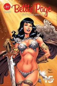 [Bettie Page: Unbound #1 (Cover A Royle) (Product Image)]