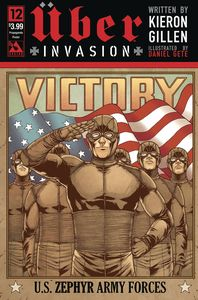 [Uber: Invasion #12 (Propaganda Poster Cover) (Product Image)]