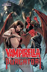 [Vampirella Vs Purgatori #1 (Cover B Pagulayan) (Product Image)]