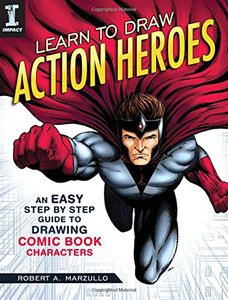[Learn To Draw Action Heroes (Product Image)]