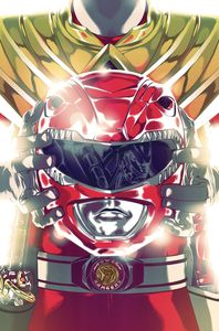 [Mighty Morphin Power Rangers #46 (Foil Montes Variant) (Product Image)]