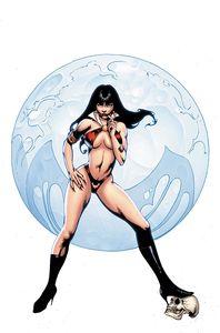 [Vampirella #25 (Cover ZF Castro Virgin Variant) (Product Image)]