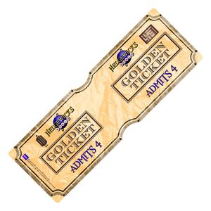 [Doctor Who: Travel Pass Holder: Golden Ticket (Product Image)]
