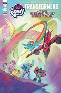 [My Little Pony/Transformers II #2 (Cover B Bethany Mcguire-Smith) (Product Image)]