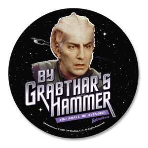 [Galaxy Quest: Coaster: By Grabthar's Hammer! (Product Image)]