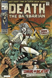 [Lady Death: Sworn #1 (Death The Barbarian Damaged Edition) (Product Image)]