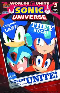 [Sonic Universe #77 (Super Group Variant Cover) (Product Image)]