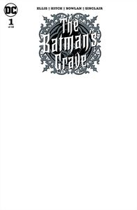 [Batman's Grave #1 (Blank Variant Edition) (Product Image)]