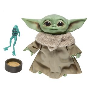 [Star Wars: The Mandalorian: 7.5 Inch Talking Plush: The Child (Baby Yoda) (Product Image)]