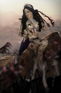 [Die!Namite #4 (Hollon Zombie Cosplay Virgin Variant) (Product Image)]