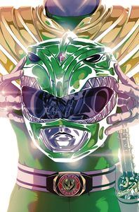 [Mighty Morphin Power Rangers #49 (Foil Montes Variant) (Product Image)]