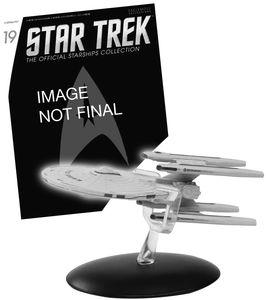 [Star Trek: Starships Figure Collection Magazine #19 USS Stargazer (Product Image)]